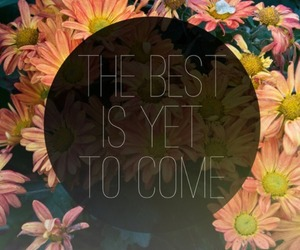quote, flowers, and Best image