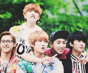kpop, baro, and jinyoung image