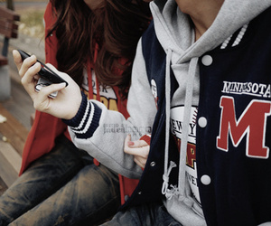 couple, boy, and swag image