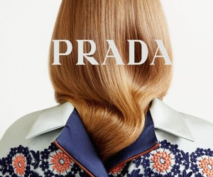Prada, fashion, and hair image