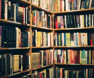book, books, and paradise image