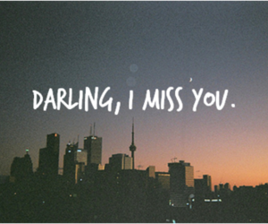 love, darling, and miss image