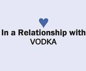 vodka, Relationship, and alcohol image