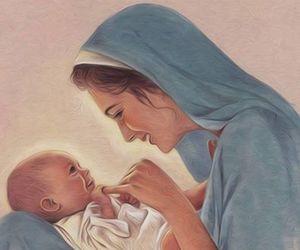 jesus, christmas, and god image