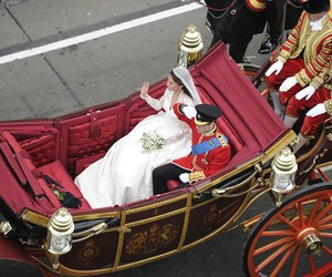 carriage, royal wedding, and princess kate image