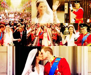 kate, photography, and royal wedding image