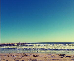 mer, Barcelona, and plage image