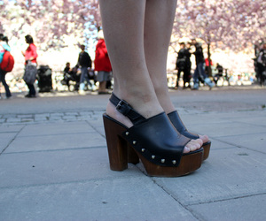 clogs, mocca, and fashion image
