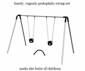 swing, thefaultinourstar, and pedophilicswing image