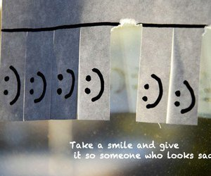 smile, happy, and quote image