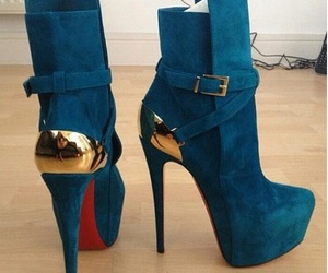 boots, louboutins, and fashion image