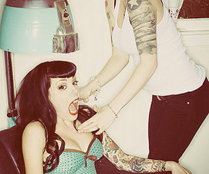 tattoo, Pin Up, and rockabilly image