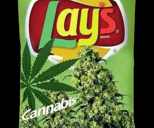 chips and weed image