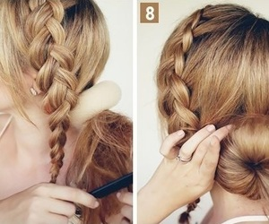 hair, long hairstyles, and hair style image