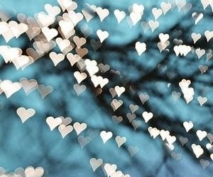 heart, heart lights, and love image