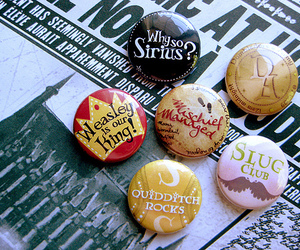 harry potter, sirius, and badge image