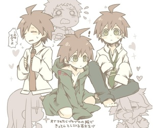 clothes, naegi makoto, and ybfs image