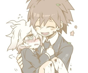 yaoi, cute anime boys, and naegi makoto image