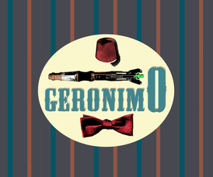 Geronimo and sonic screwdriver image
