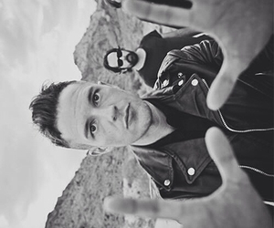 the killers, band, and black and white image