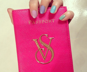 fashion, passport, and style image