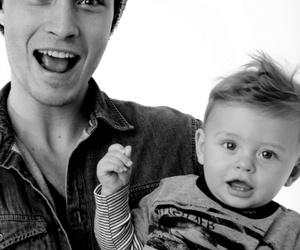 Francisco Lachowski, model, and baby image