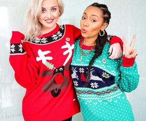 little mix, perrie edwards, and christmas image