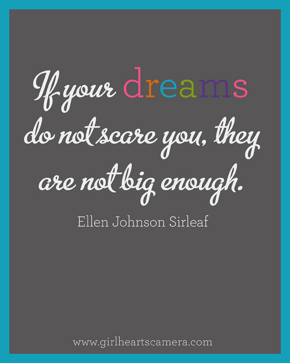 your dreams should scare you - Google Search on We Heart It