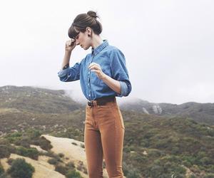 girl, vintage, and fashion image