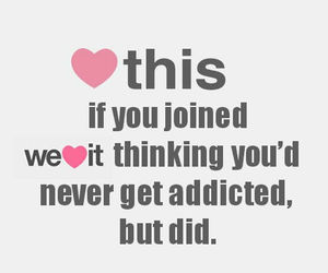 addicted, we heart it, and heart image