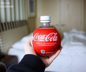 coca cola, red, and cool image