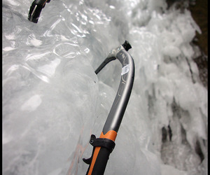 ice, alpinism, and landscape image
