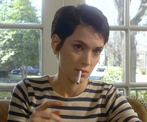 girl interrupted, winona ryder, and cigarette image