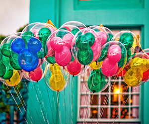 balloons, disney, and photography image