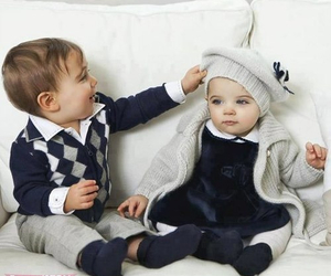 babies, fashion, and baby boy image