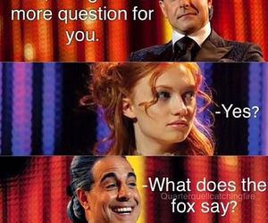 hunger games, catching fire, and foxface image