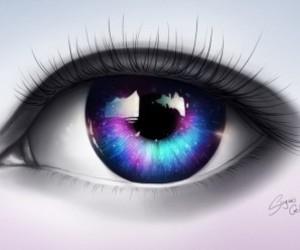 eye, eyes, and drawing image