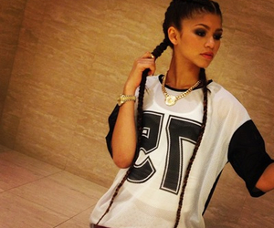 zendaya, braids, and swag image