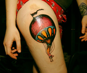 tattoo, circa survive, and girl image