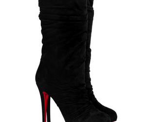 boots, red, and salto alto image