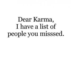 karma, quotes, and people image