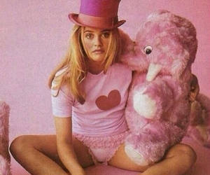 alicia silverstone, pink, and Clueless image