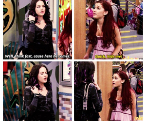 ariana grande, funny, and victorious image