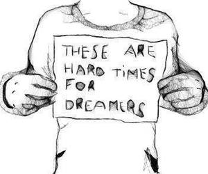 black and white, dreamers, and true image