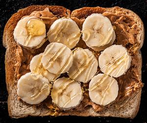 banana, food, and bread image