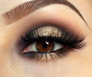 glamor, make up, and maquillaje image