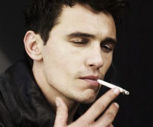 james franco, cigarette, and sexy image
