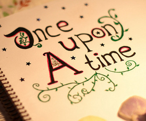 once upon a time, time, and book image
