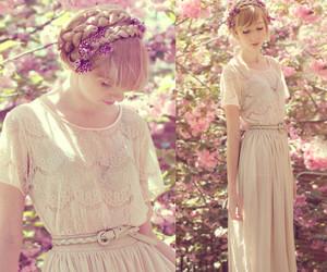 angel, dress, and fashion image