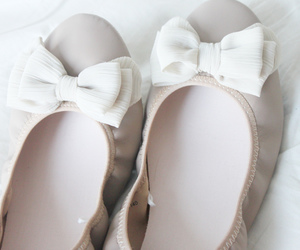 cute, bow, and shoes image